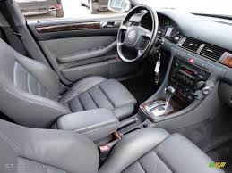 2000 Audi A6 Interior Tungsten Grey Interior 2001 Audi A6 4 2 Quattro Sedan Photo