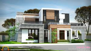 flat roof homes designs flat roof villa exterior in 2400 sq feet