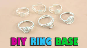 diy homemade ring base jewelry crafts simplekidscrafts