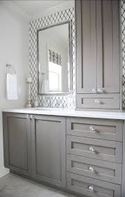 Give Your Bathroom A BudgetFreindly Makeover Bathroom Cabinets - Gray bathroom designs