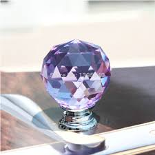 Kitchen Cabinet Knobs Cheap Purple Glass Cabinet Knobs Promotion Shop For Promotional Purple