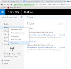 reset microsoft online services password office365 accessing multiple mailboxes