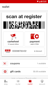 target offering 30 discount on update target releases a beta version of its app combines