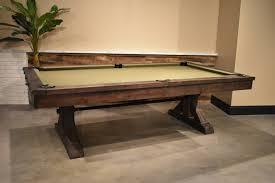 restoration hardware pool table restoration hardware inspired pool table rustic 8 otis pool table