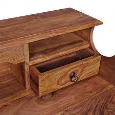 Schreibtisch Mit Aufsatz Holz Schreibtisch Im Landhausstil Pisinon Wohnen De