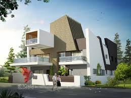 Modern Elevation Modern Elevation Treatment Contemporary Home Elevation House