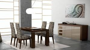 irene modern 5pc lacquered dining room set jersey 1 899 00