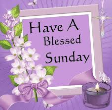 a blessed sunday day purple candle blessing days of the week