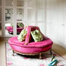 round dressing room ottoman take a tour around an arts and crafts home dressing room