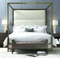 Modern Canopy Bed Frame Modern Bed Frame Iron Canopy Bed Frame Trent Modern