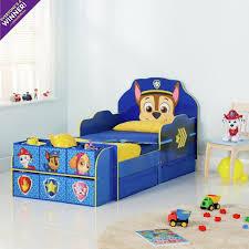 Bedroom Furniture Sale Argos Buy Paw Patrol Cube Toddler Bed Frame Blue At Argos Co Uk Visit