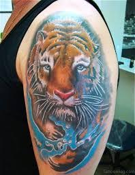 50 impressive tiger tattoos on shoulder