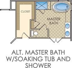 small master bathroom floor plans kingsmill u2014 bathroom