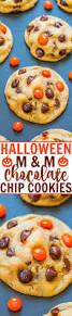 halloween m u0026m chocolate chip cookies averie cooks