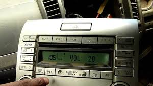 ford ranger cd mp3 player panasonic us16 66 dsxa cq em8670ta youtube