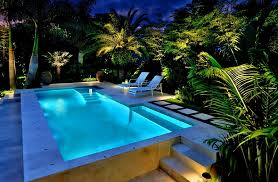 In Ground Landscape Lighting Outdoor Paver Trends In Ground Landscape Lighting Backyard Pool
