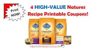 printable nature s recipe dog food coupons 4 natures recipe printable coupons 23 in savings wow
