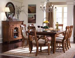 kincaid dining room kincaid tuscano solid wood refectory leg table dining set by dining
