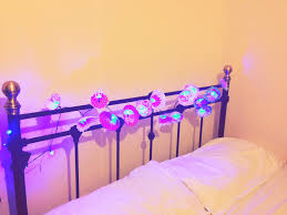 Bedroom Decor Diy by Diy Room Decor Flower Lights Girls Bedroom Decor Ideas Youtube