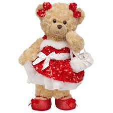 build a teddy all glammed up happy hugs teddy build a christmas