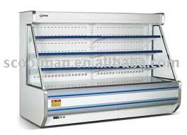 supermarket multi desk refrigerator showcase equipment for display