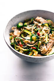 turkey chow fun zoodles stir fry cotter crunch gluten free recipes