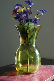 decorative flower vase glass vase centerpiece painted glass vase