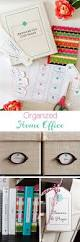 get your home office real organized and labeled