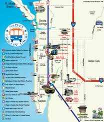 Southwest Route Map by Naples Trolley Tours Route Map Florida Pinterest Naples