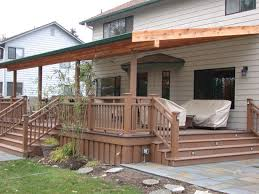 simple covered deck ideas