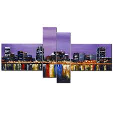 buy art wall online walmart canada design montreal landscape