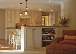 Kitchen Islands For Small Spaces Island Half Wall To Partition Kitchen From Family Room Kitchen