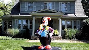 Halloween Air Blown Inflatables by Morbid Airblown Halloween Inflatable Clown In A Box 6 5 Ft