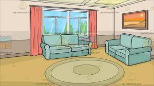 cartoon living room background a small living room background cartoon clipart vector toons