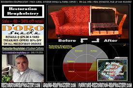 Upholstery Restoration Furniture Restoration Restoration Reupholstery Orange County Oc La