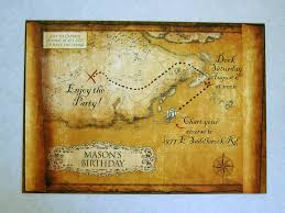 diy pirate party invitations works for any beach theme a