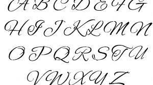 cursive letters a z copy and paste in alphabet letter designs