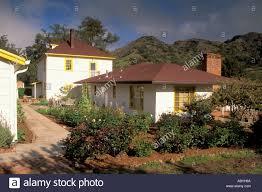 California Ranch House Main Ranch House Santa Cruz Island Channel Islands California
