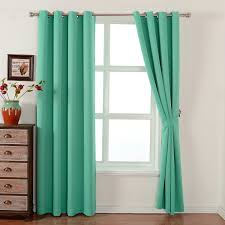 Teal Blackout Curtains Blackout Thermal Curtains Sale U2013 Ease Bedding With Style