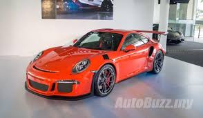 porsche gt3 malaysia porsche 911 gt3 rs storms into malaysia pricing starts from rm1