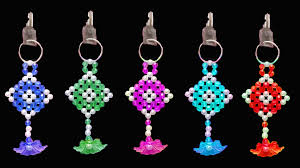 crystal key rings images How to make crystal beads key chain beaded keychains you can jpg