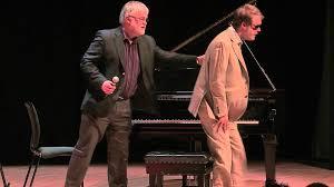 Blind Piano Player In The Key Of Genius Derek Paravicini And Adam Ockelford At
