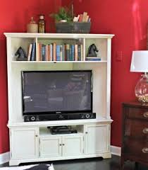 Trendy Corner Space With Various by Corner Tv Stand With Doors Foter