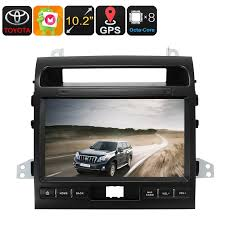 media player for android 10 2 inch two din android car media player for land cruiser