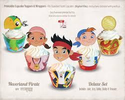 jake and the neverland pirates birthday invites jake and the neverland pirates cupcake toppers cute pinterest