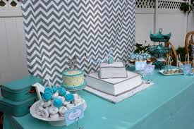 blue elephant baby shower decorations modern chevron elephant baby shower baby shower ideas themes