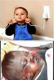 Baby Phone Meme - fact check baby killed by electric shock from cord