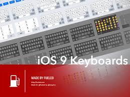 ios 9 sketch keyboard kit sketch freebie download free resource