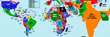 Map Distortion Us Map Population Distortion Us Map Population Distortion 1973 38