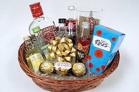 vodka gift baskets personalised vodka gift basket gift for 18th 21st 30th 40th 50th